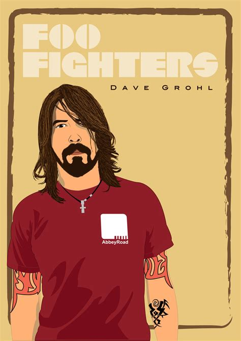 dave grohl foo fighters by ennas on deviantart