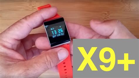 Smartwatch X9 Plus x9 plus blood pressure reading smart band unboxing and review