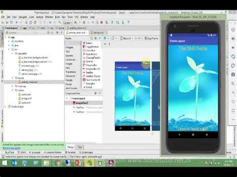 android studio frame layout 7 android app development android frame layout in android