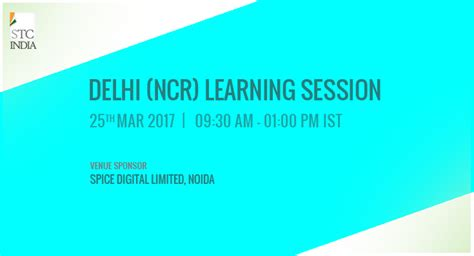 Distance Mba From Delhi 2017 by Delhi Ncr Stc Learning Session On March 25 2017