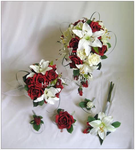wedding flower arrangements roses artificial wedding flowers and bouquets australia
