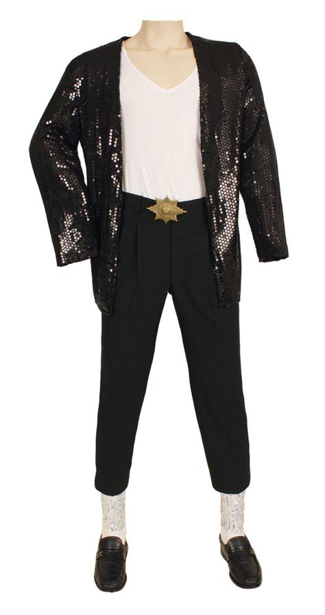 Michael Jackson Costumes Up For Auction by Michael Jackson Billie Jean Costume Sells At Auction