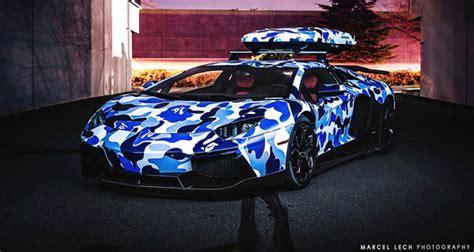 Blue Camo Lamborghini Lamborghini Aventador Arctic Blue Camo Photos By Marcel