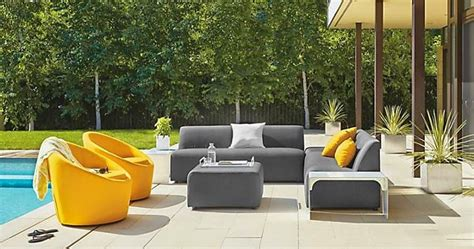 room and board outdoor ciao newport 12 amazing outdoor looks from room board