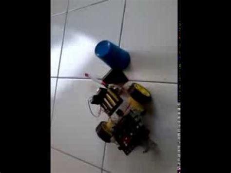 cara membuat robot bisa jalan cara membuat robot pembersih jalan dengan arduino youtube