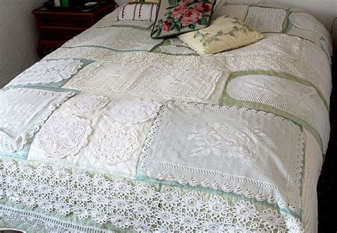 Bettdecke Patchwork by The World S Best Photos Of Doily And Quilt Flickr Hive Mind
