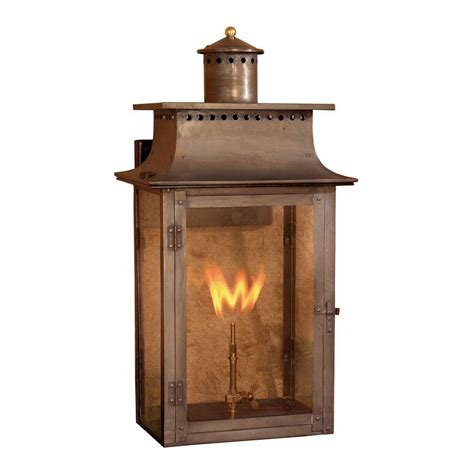 gas lantern outdoor lighting titan lighting maryville 27 in outdoor washed pewter gas