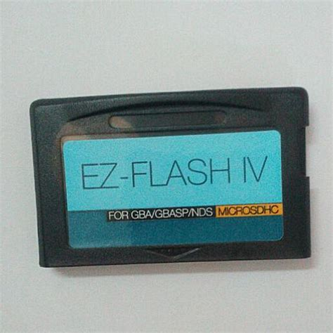 tutorial ez flash iv ez flash iv micro sd version for gba gbasp ez flash iv