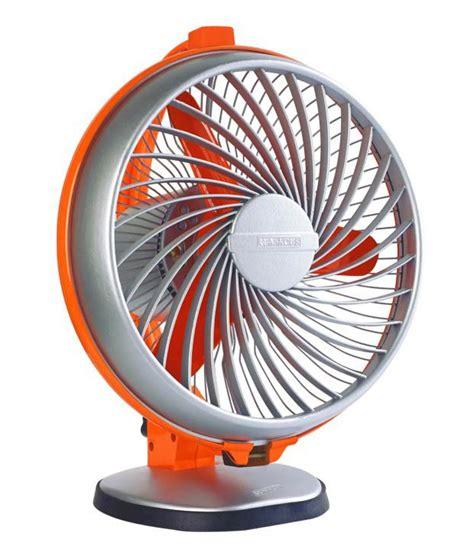 small table fan price luminous 230 mm fan buddy table fan royal orange price in