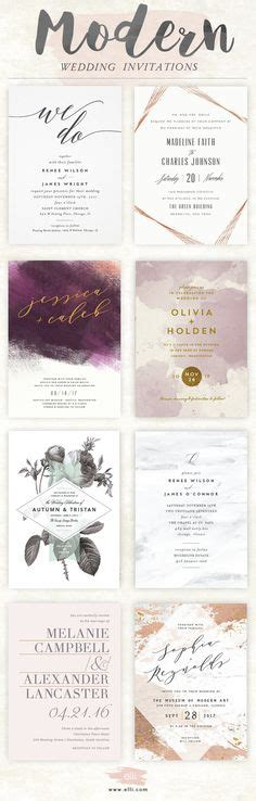 Unique Modern Wedding Invitations by Make These Sweet Floral Wedding Invitations Using Nothing