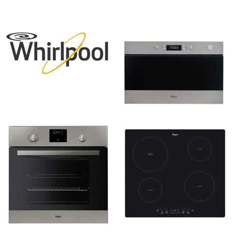meuble cuisine four et micro onde 228 pack whirlpool encastrable four micro ondes plaque achat