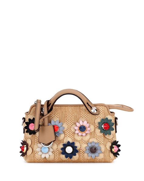 Tas Fendi By The Way Stud Multicolor Semprem 3231 A273 fendi resort 2017 bag collection featuring floral bags spotted fashion