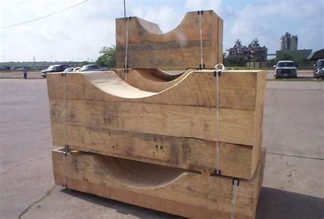 Timber Cribbing by Industrial Wood Products American Pole And Timber 866