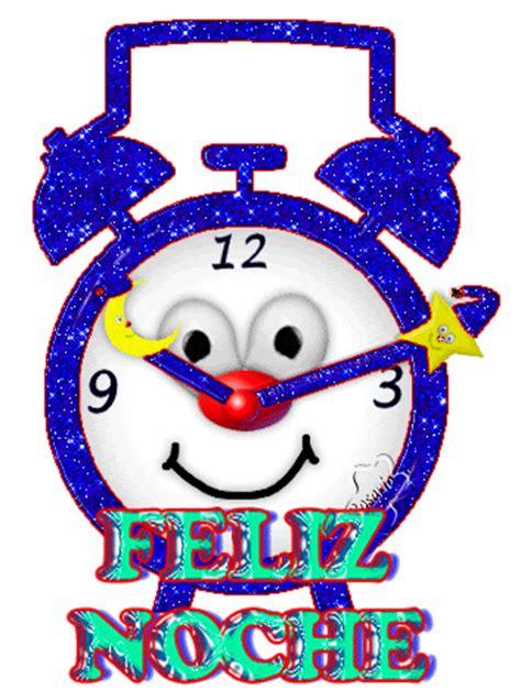 imagenes animadas feliz noche feliz noche despertador azul imagenes y carteles