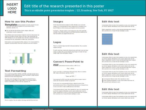academic template for poster presentation powerpoint vcu