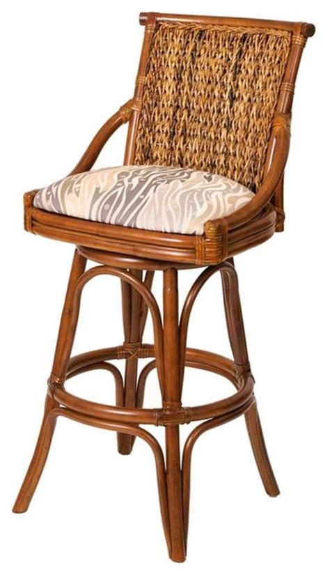 Swivel Counter Stool (Dodge Spruce)   Tropical   Bar