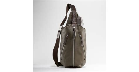 Coach Cus Sling Backpack 1 coach thompson leather sling pack in green for lyst