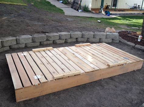 sandbox with bench lid a step by step photographic woodworking guide page 7