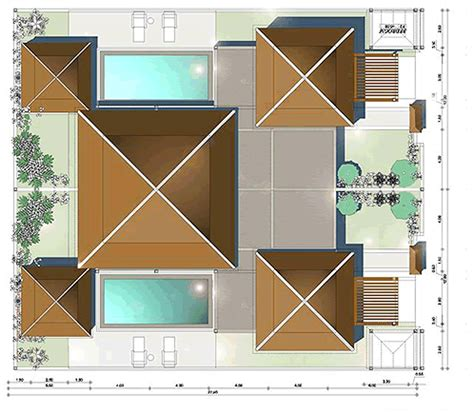 Two Floor Plans Lersuang Townhomes Bang Tao Floor Plans