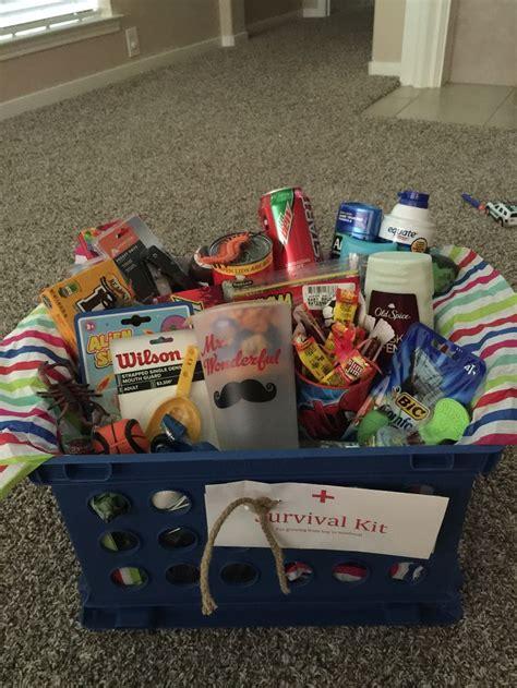 Teenager Survi L Kit Awesome Ee Gift Basket For A Teenage