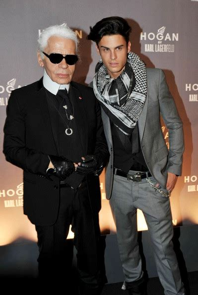 Gantungan Tas Karl Lagerfeld karl lagerfeld is set to time boyfriend baptiste giabiconi in summer 2011