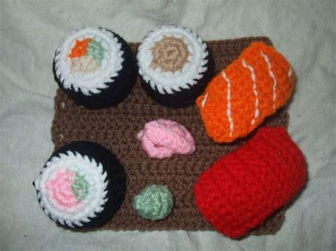 amigurumi sushi pattern sushi pattern crochet toys pinterest