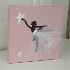 cadre danseuse tutu blanc d 233 coration chambre danseuse