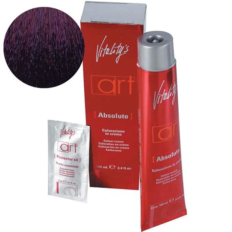 vitality hair colour plus 100ml vitality colour 5 88 rich violin light chestnut 100ml