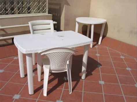 limpiar mesas  sillas de plastico  volvone light youtube