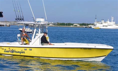 cape canaveral fishing boats 30 center console charter in cape canaveral florida