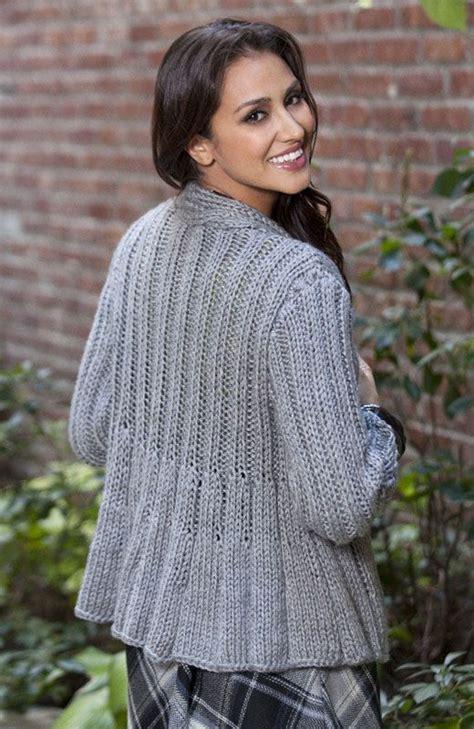 swing sweater knitting pattern swing jacket free sweaters pinterest