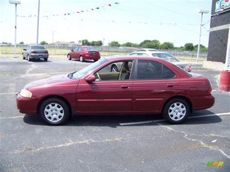 red nissan sentra 2002 inferno red nissan sentra gxe 30816091 gtcarlot