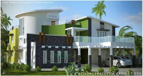 wellsuited simple home design contemporary kerala and floor plans luxury kerala house design and plan at 5004 sq ft