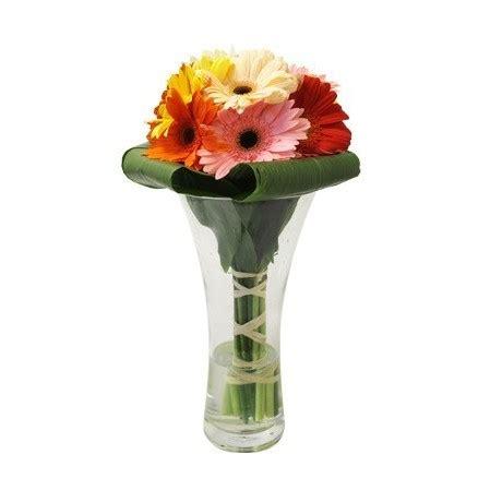 Gerbera Arrangements Vases by Gerbilicious Arrangement Of Mixed Gerberas In A Vase