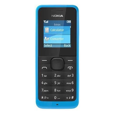 Hp Nokia Model 105 nokia 105 cyan harga dan spesifikasi