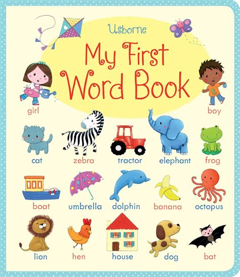 words and your books my word book at usborne children s books