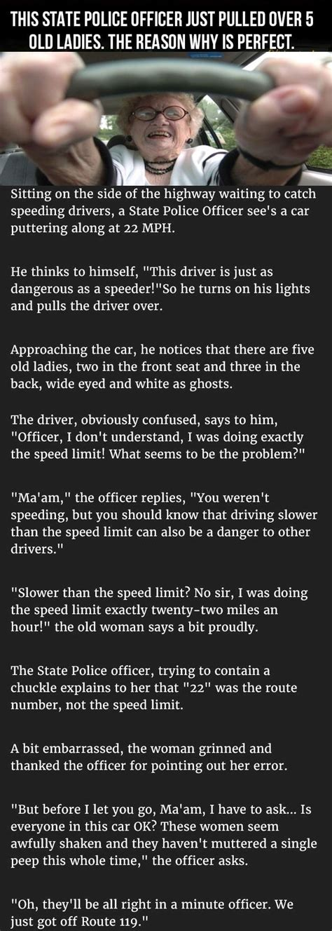 This State Officer Pulled Over 5 Old Ladies The Reason Why I My Right To Say Things Parade Driver Defends