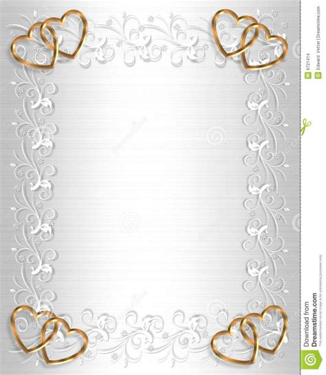 Wedding Invitations Ring Design by Border Design Wedding Card With Ring Borders For Wedding