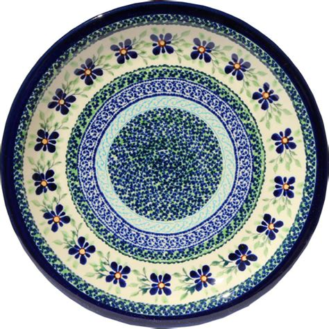 polish pottery dinner plate pattern number 233ar polish pottery dinner plate pattern number du121