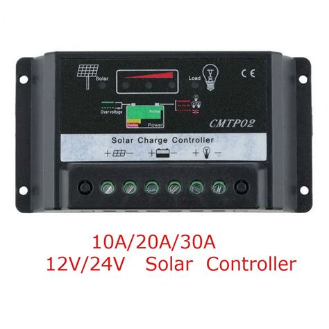 Solar Charge Controller Regulator 10a 10a 20a 30a solar panel battery regulator charge controller 12v 24v auto switch ebay