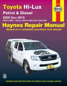 service manual hayes auto repair manual 2008 toyota tundra head up display 2014 toyota toyota hilux repair manual haynes manual workshop manual 2005 2015 ebay