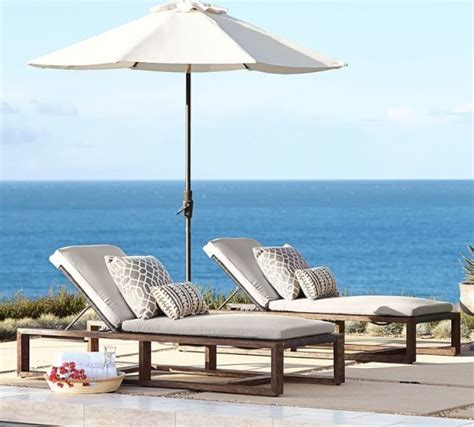 chaise lounge pottery barn pottery barn outdoor furniture sale save 30 on chaise