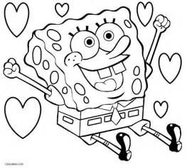 sponge bob coloring pages printable spongebob coloring pages for cool2bkids