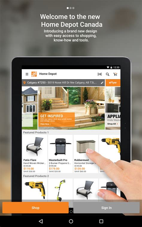 home depot your paint app the home depot canada android apps on play