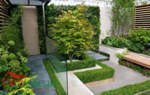 desain eksterior taman desain eksterior rumah dengan taman minimalis diro karya