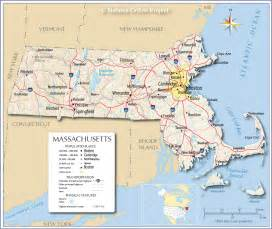 Map Massachusetts by Map Of Massachusetts Massachusetts Maps Mapsof Net