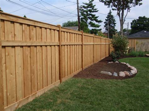 affordable types of wood fences garden bitdigest design