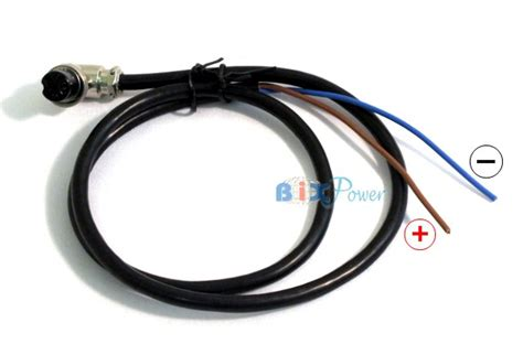 blue brown wires output cable for bx2488 battery