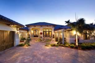 Florida Style Homes Coastal Contemporary Florida Mediterranean House Plan