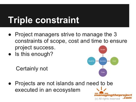 avoid inadequate planning the primary project management mistake